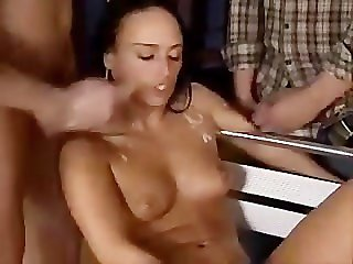 Bukkake , Cumshot , Gang bang , Top Rated