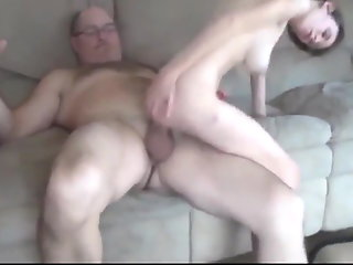 Big Cock , Creampie , Homemade , Old Young