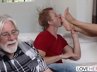Foot Job , Massage , Sucking