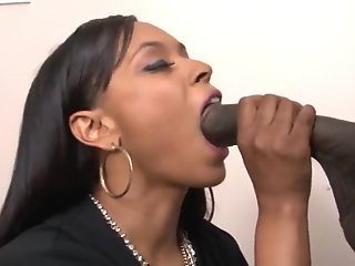 Big Cock , Cumshot , Doggy , Ebony