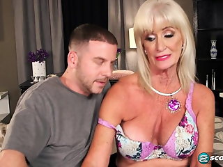 Blonde , Cumshot , Facial , Grannies