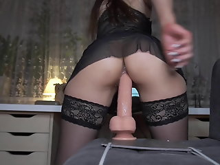 Amateur , Lingerie , Orgasm , Stocking