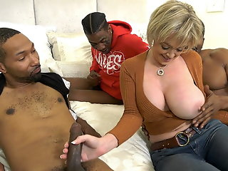 Anal , Big Cock , Interracial , Double Penetration