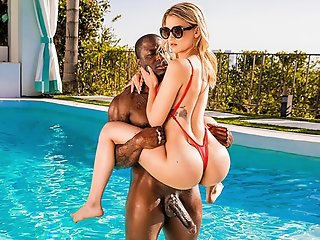 Blonde , Interracial