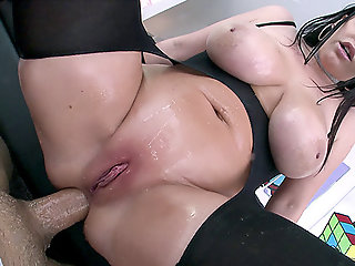 Anal , Big Tits , Close up , Cumshot