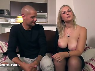 Anal , Big Cock , Blonde , Stocking