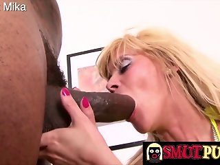Big Cock , Blonde , Mature , Sucking