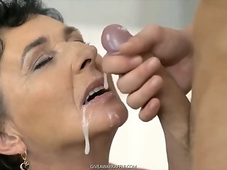Compilation , Cumshot , Facial , Grannies