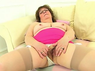 BBW , Mature , Stocking