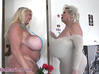 BBW , Big Cock , Big Tits , Blonde