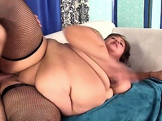 Big Tits , Stocking , Sucking