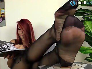 Pantyhose , Redhead , Top Rated