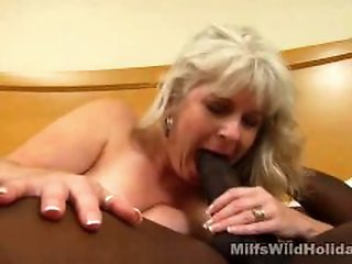 Blonde , Doggy , Interracial , Sucking