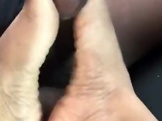 Amateur , Cumshot , Foot Job , Indian