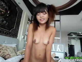 Amateur , Asia , Creampie , Interracial