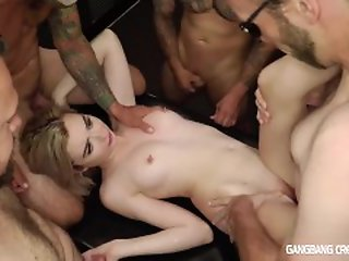 18 year old , Creampie , Gang bang , Old Young