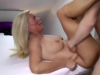 Amateur , Blonde , Facial , Mature